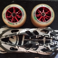 Bont 3x125mm+Red Magic 125mm rattad